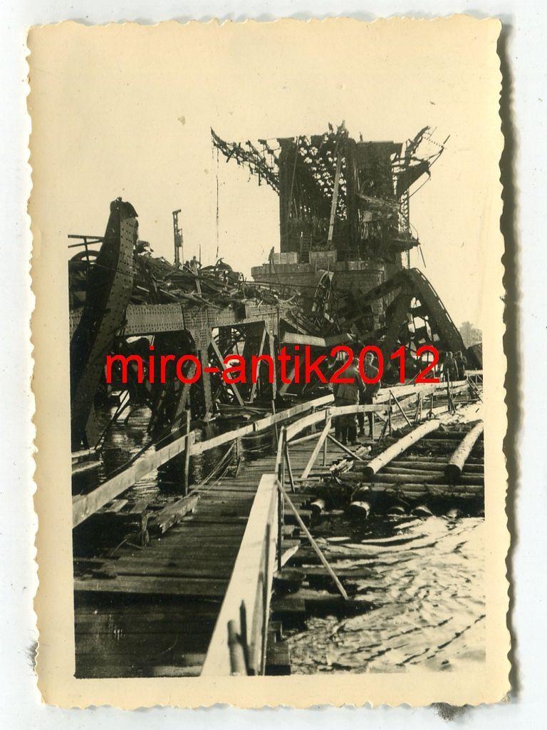 Днепропетровские мосты в 1942 году