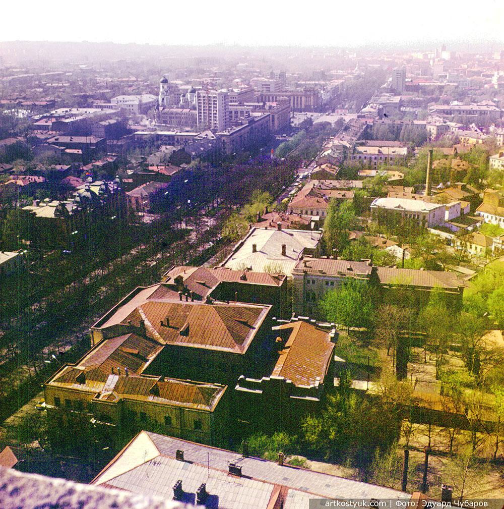 Днепропетровск 70-х с высоты