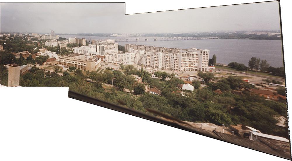 Панорама Днепропетровска конца 90-х