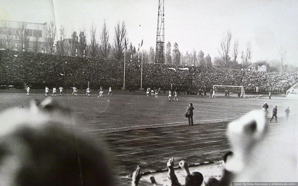 Днепр - Спартак 6 ноября 1983 года