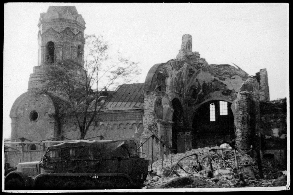 Днепропетровск 1941-1942 годов из венгерского фотоальбома