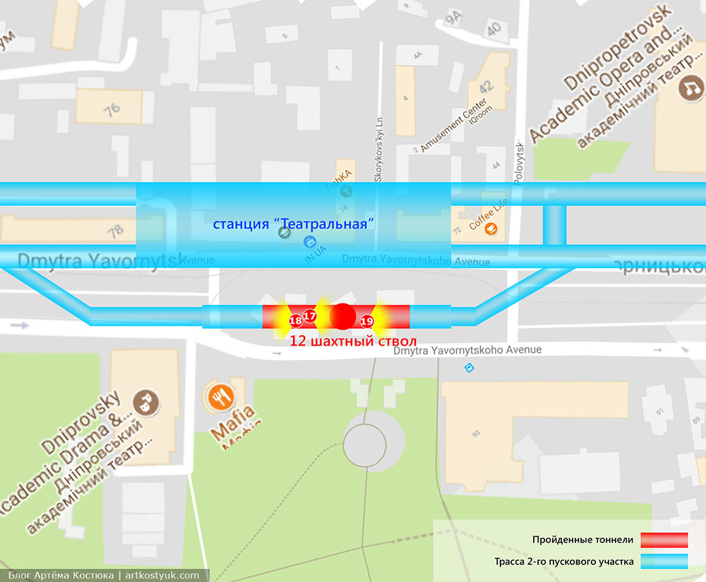 строительство Днепровского метро
