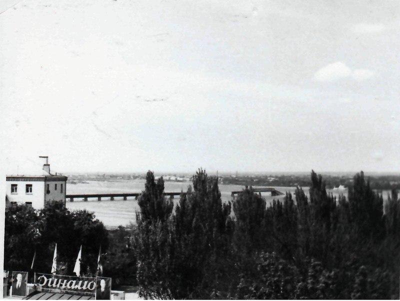 Деревянный Центральный мост Днепропетровск
