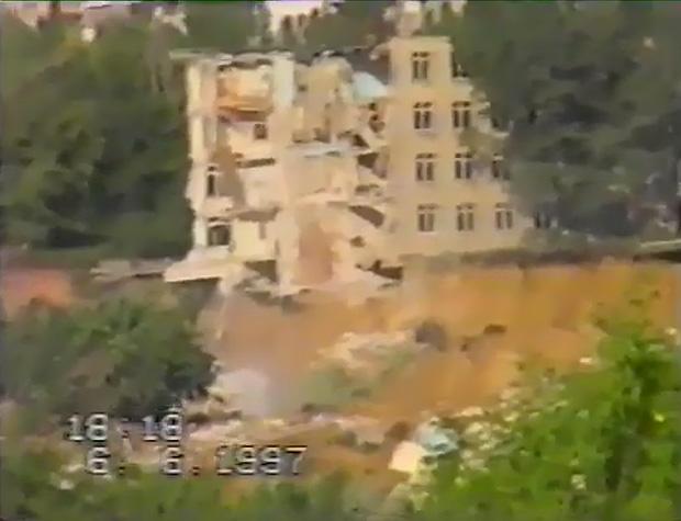 оползень на Тополе 1997