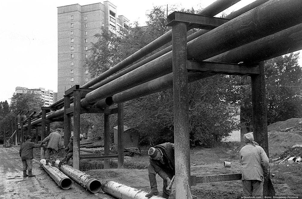 Оползень на Тополе 1997 год