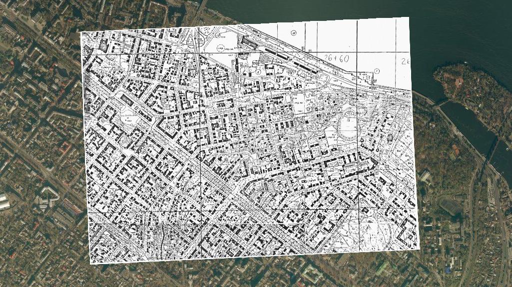 План Днепропетровска 1978 года