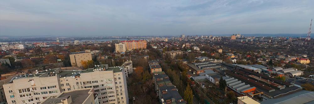 Сферические панорамы Днепра