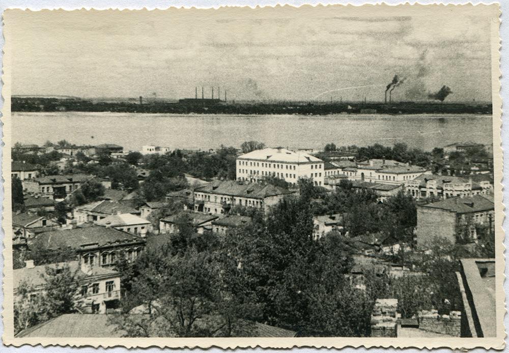 Панорама Днепропетровска начала 50-х