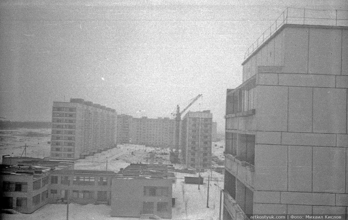 жилмассив Тополь 70-е