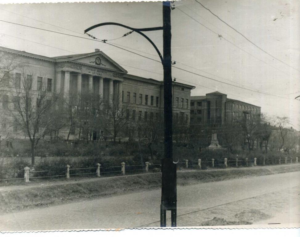 трамвайная линия исторический музей 1936