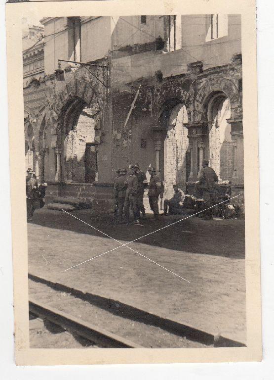 Вокзал Днепропетровска 1942 год
