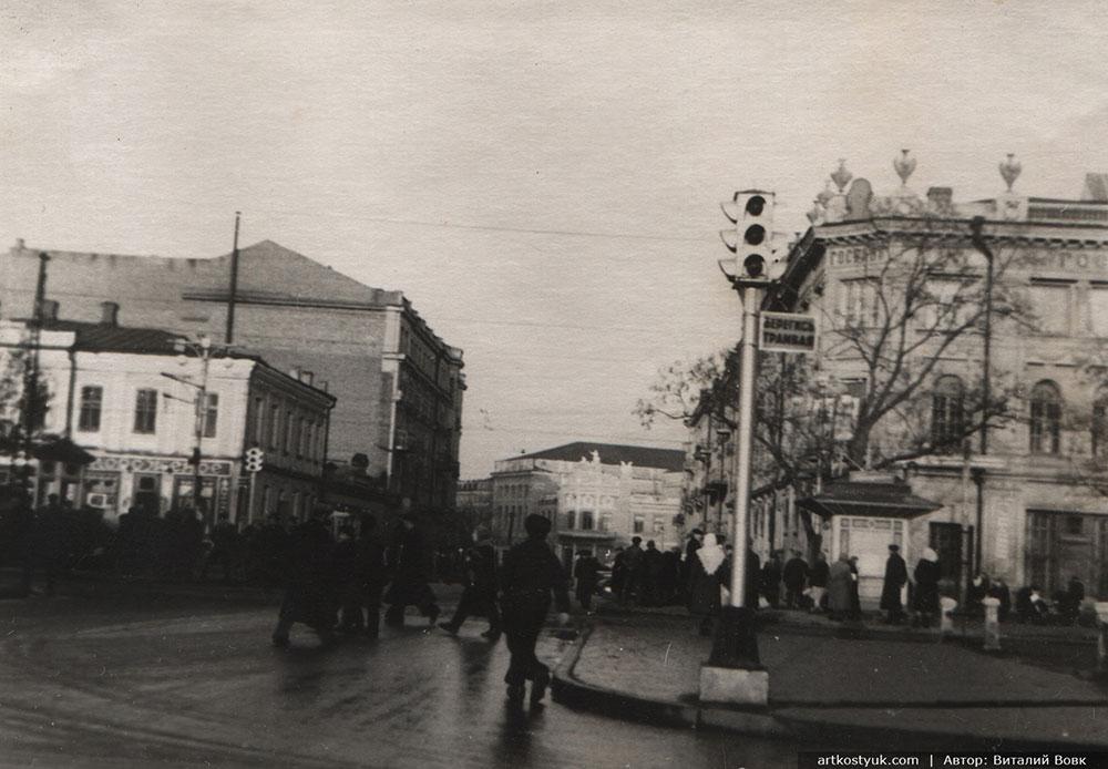 Виталий Вовк: Днепропетровск 50-х, 80-х и 2000-х
