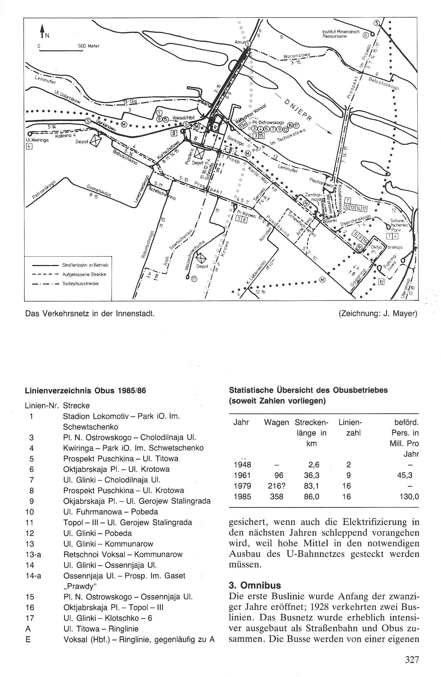 Сканы журнала Strassenbahn Magazin со статьей об электротранспорте Днепра
